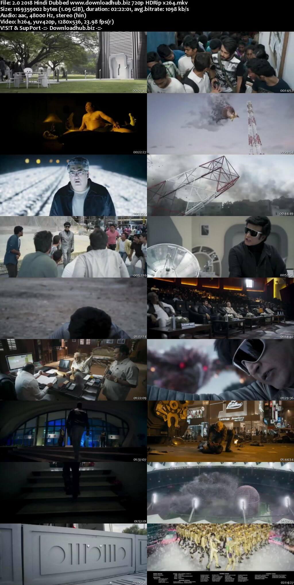 2.0 2018 Hindi Dubbed 720p HDRip x264