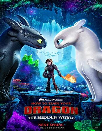 How to Train Your Dragon The Hidden World 2019 UNCUT Hindi Dual Audio HDRip Full Movie 720p Download