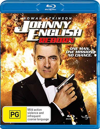 Johnny English Reborn 2011 Dual Audio Hindi 720p BluRay 800mb