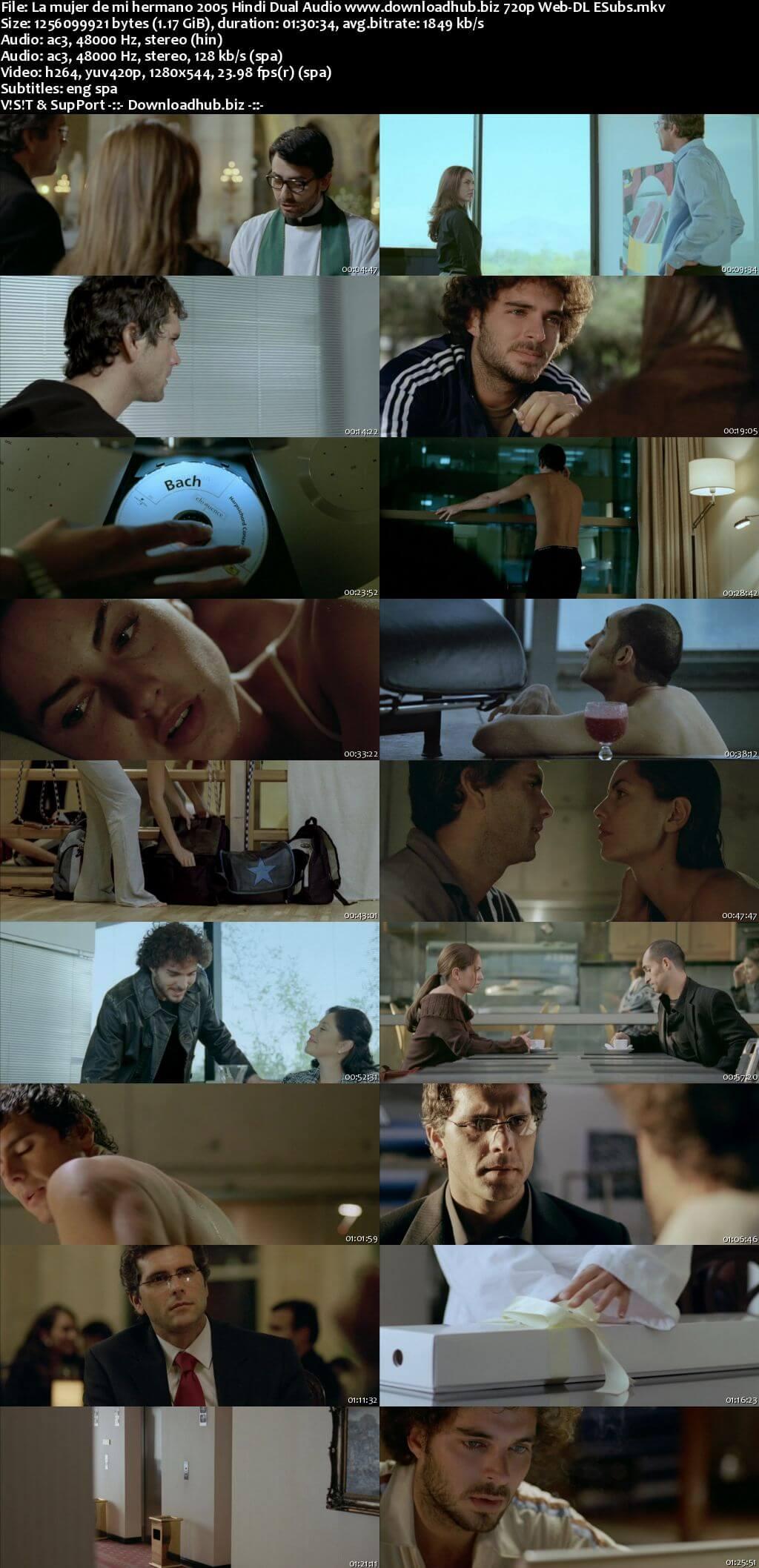 La mujer de mi hermano 2005 Hindi Dual Audio 720p Web-DL ESubs