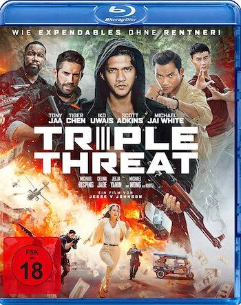 Triple Threat 2019 English 720p BRRip 950MB ESubs
