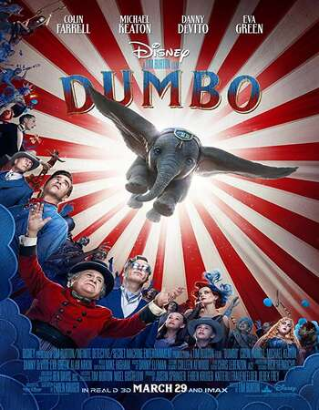 Dumbo 2019 Hindi Dual Audio BRRip Full Movie 480p Download