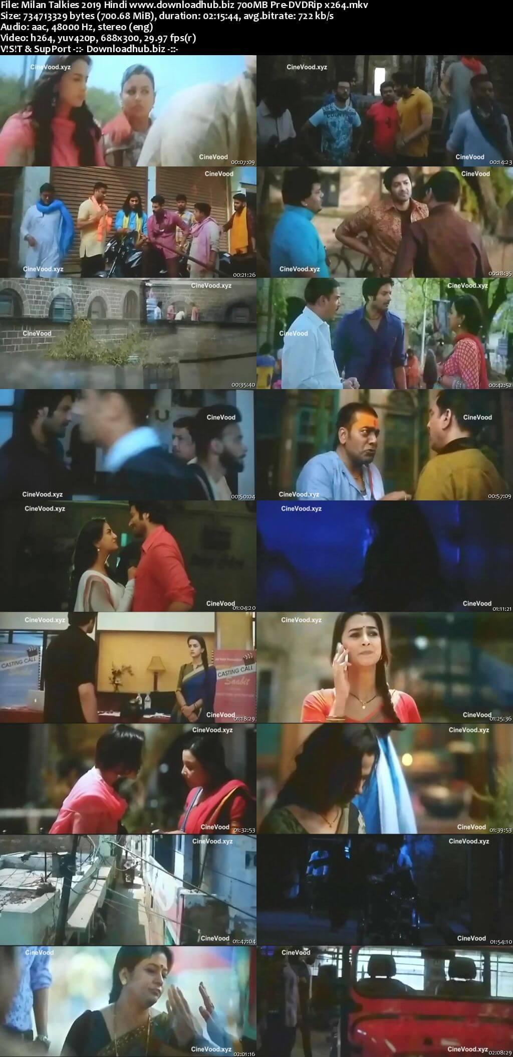 Milan Talkies 2019 Hindi 700MB Pre-DVDRip x264