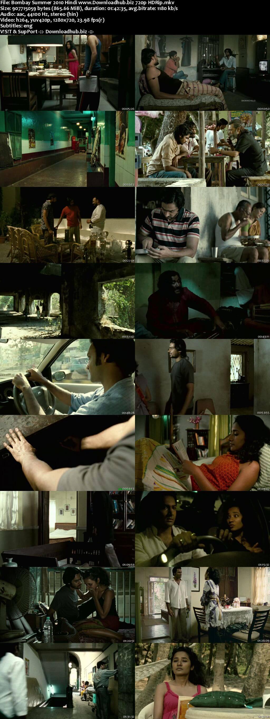 Bombay Summer 2010 Hindi 720p HDRip ESubs