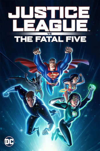 Justice League vs the Fatal Five 2019 English 720p WEB-DL 650MB ESubs