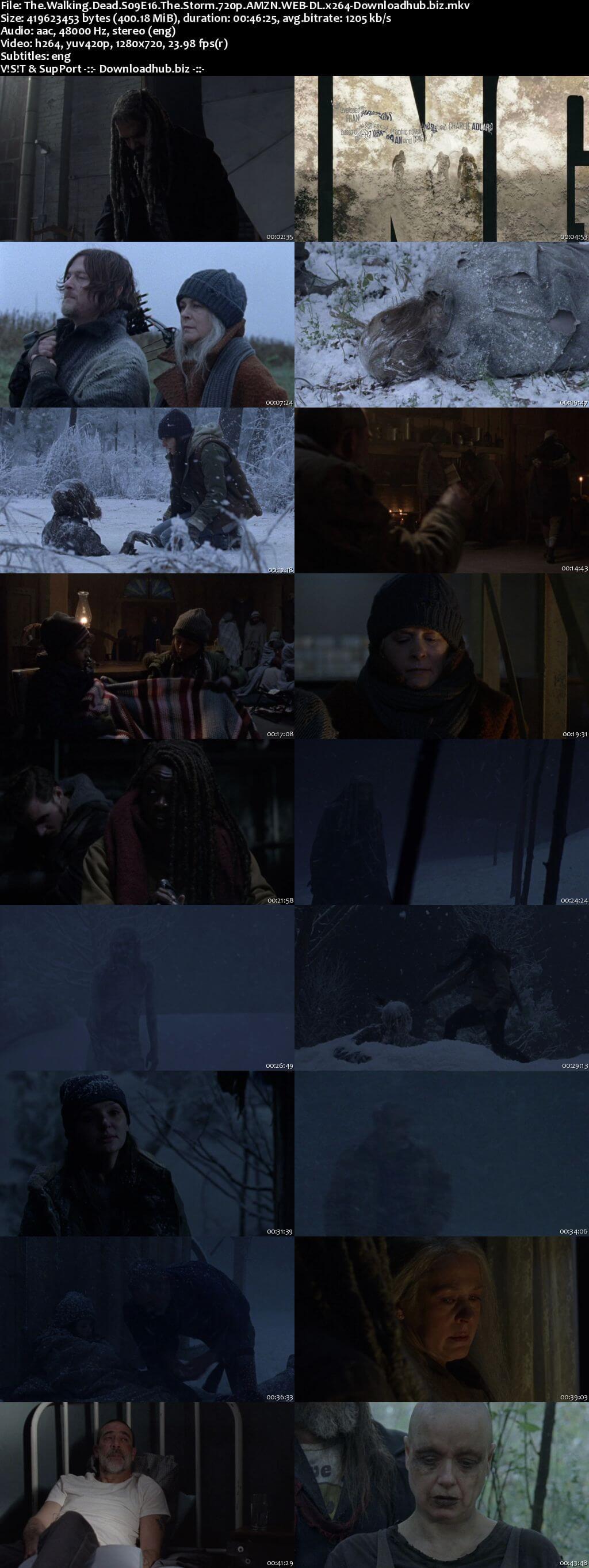 The Walking Dead S09E16 400MB AMZN WEB-DL 720p ESubs