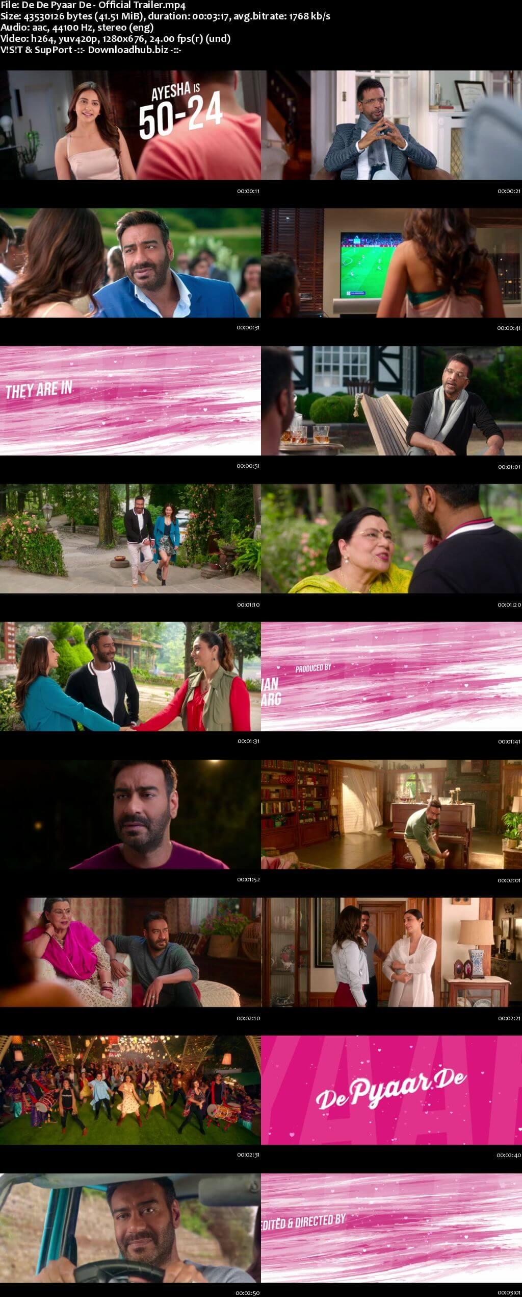 De De Pyaar De 2019 Hindi HD Official Trailer 720p
