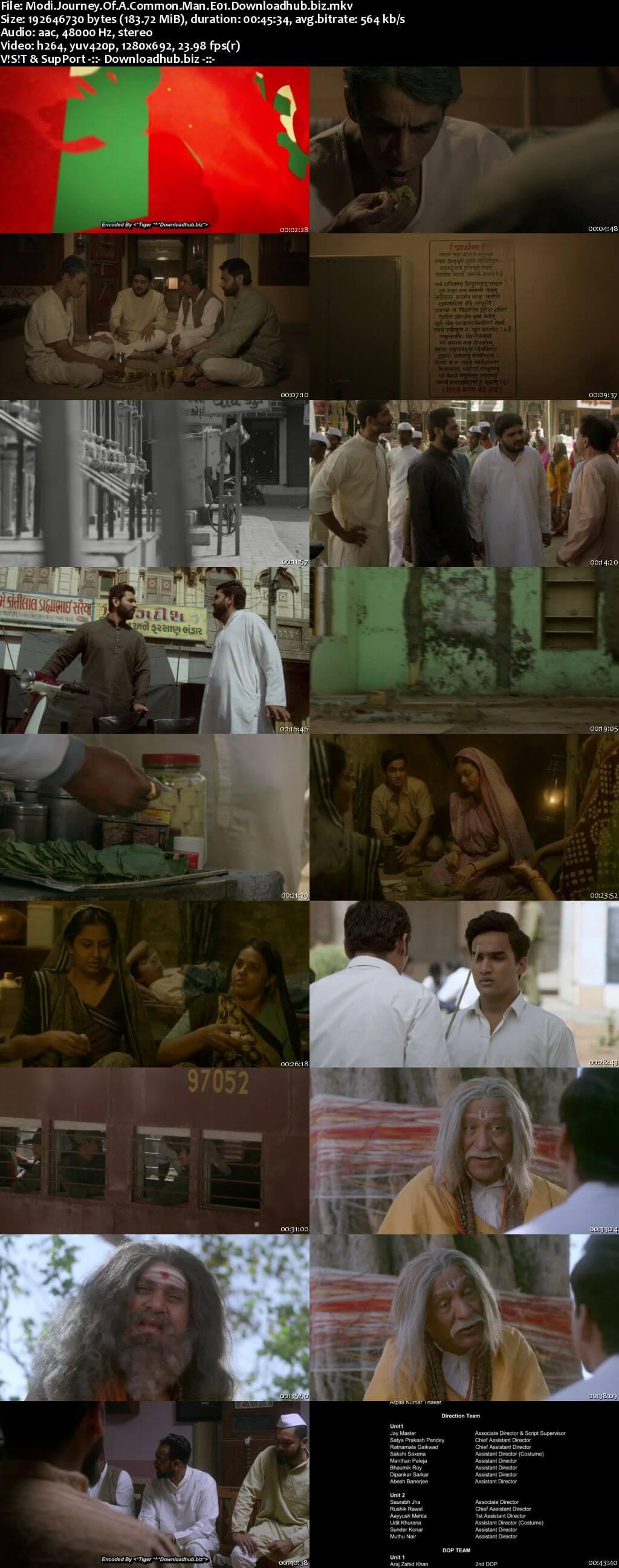 Modi Journey of A Common Man 2019 Hindi WEB Series Complete 720p HDRip x264