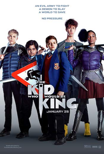The Kid Who Would Be King 2019 English Movie Download
