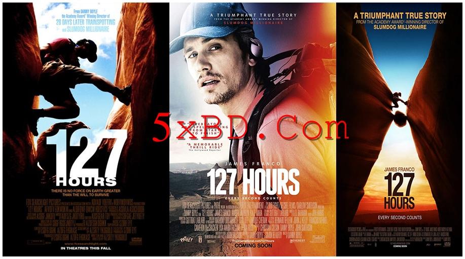 127 Hours 2010 English 720p – 480p ORG Blu-Ray 450MB – 800MB ESubs