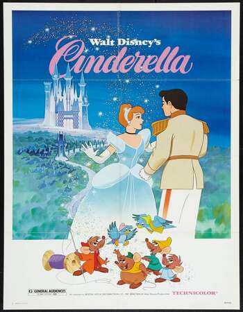 Cinderella 1950 Hindi Dual Audio BRRip Full Movie 720p Download