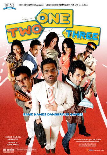 One Two Three 2008 Hindi 480p HDRip 350MB