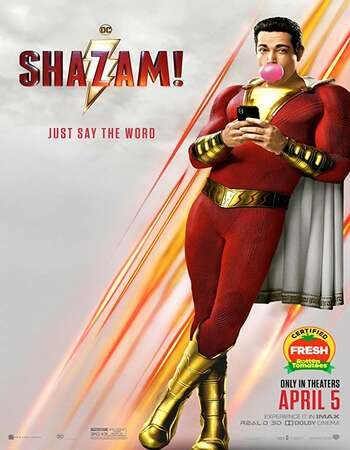 Shazam 2019 Hindi Dual Audio BRRip Full Movie 720p Download