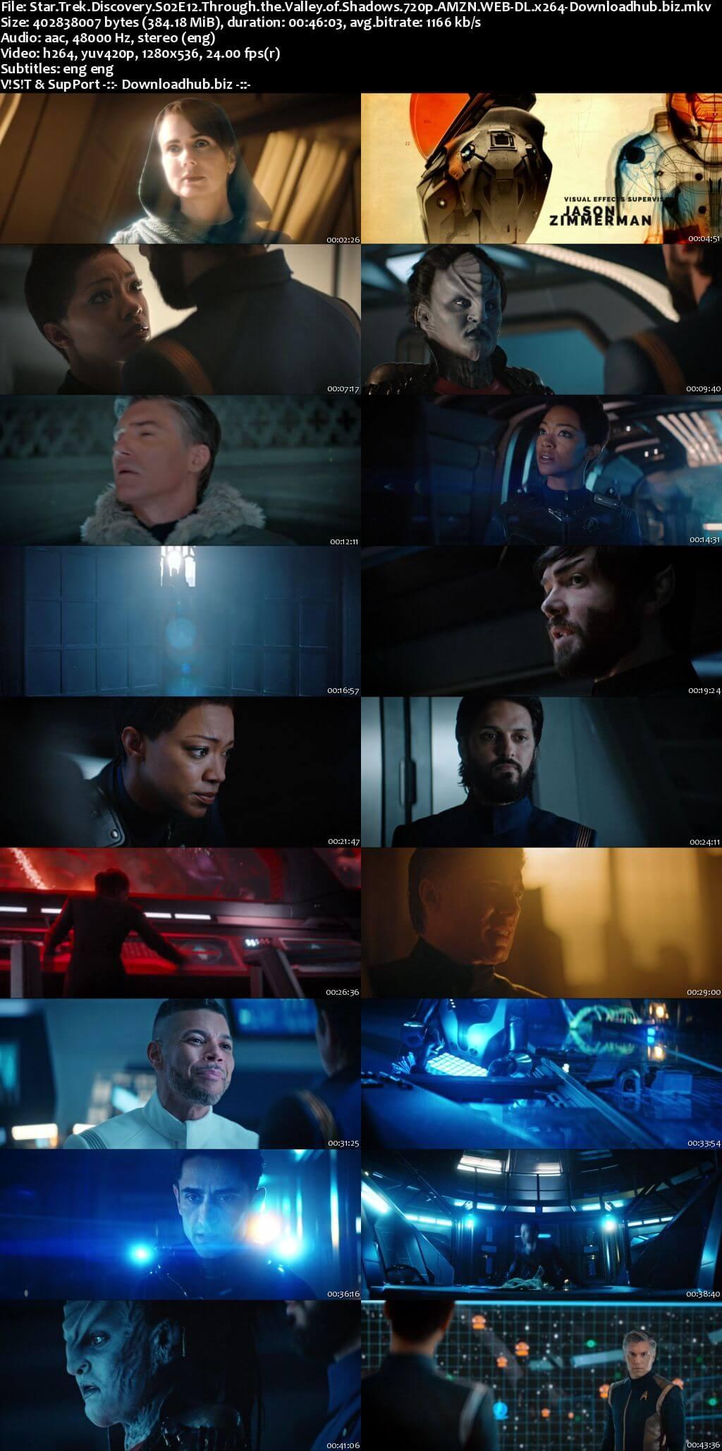 Star Trek Discovery S02E12 350MB AMZN WEB-DL 720p ESubs