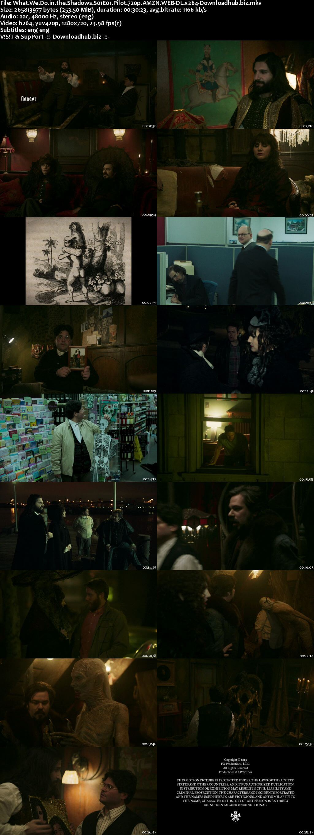 What We Do in the Shadows S01E01 250MB AMZN WEB-DL 720p ESubs