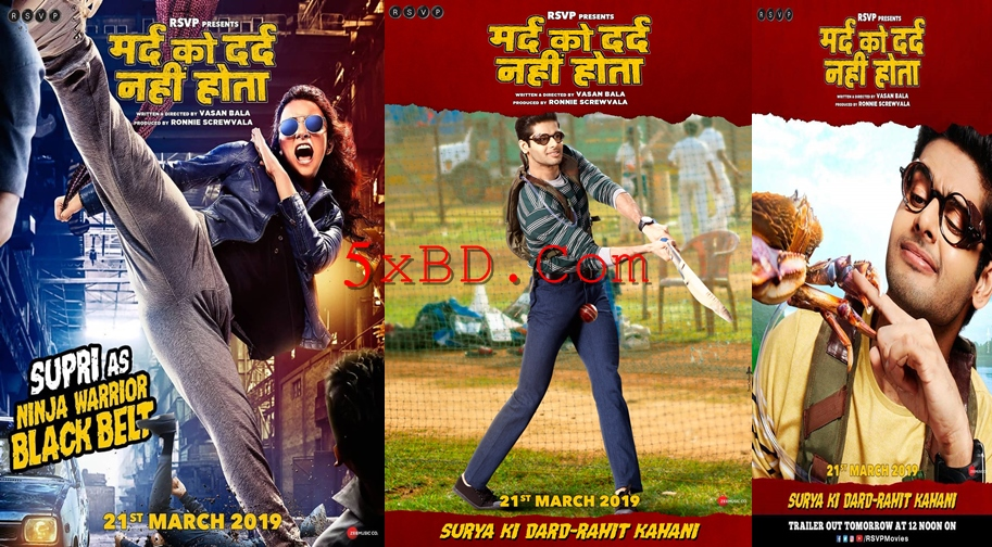 Mard Ko Dard Nahin Hota 2019 Hindi 1080p – 720p – HEVC – 480p ORG HD-Rip 450MB – 600MB – 1.3GB – 2.5GB ESubs