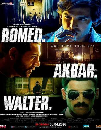 Romeo Akbar Walter 2019 Hindi 720p HDRip MSubs