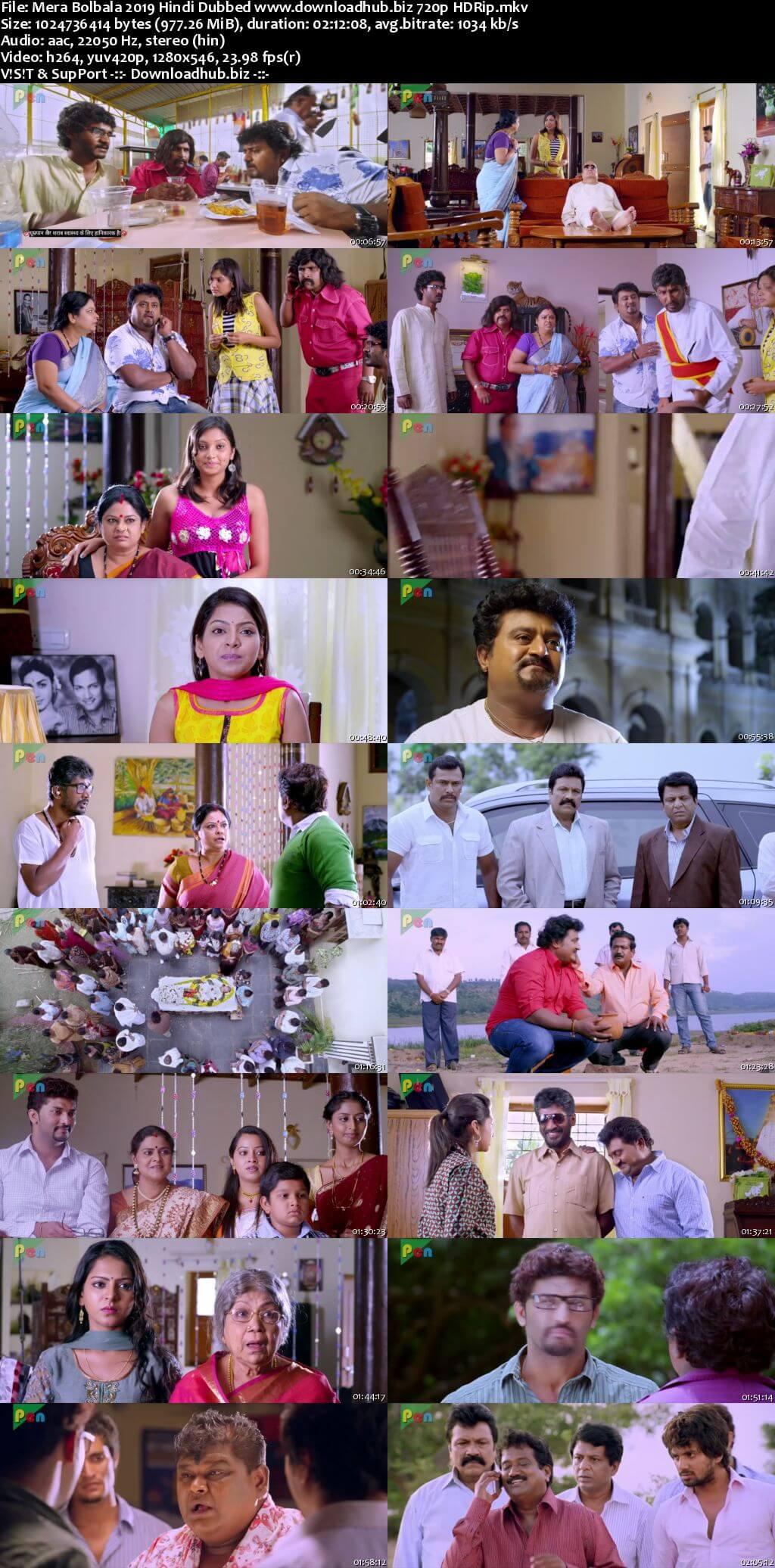 Mera Bolbala 2019 Hindi Dubbed 720p HDRip x264