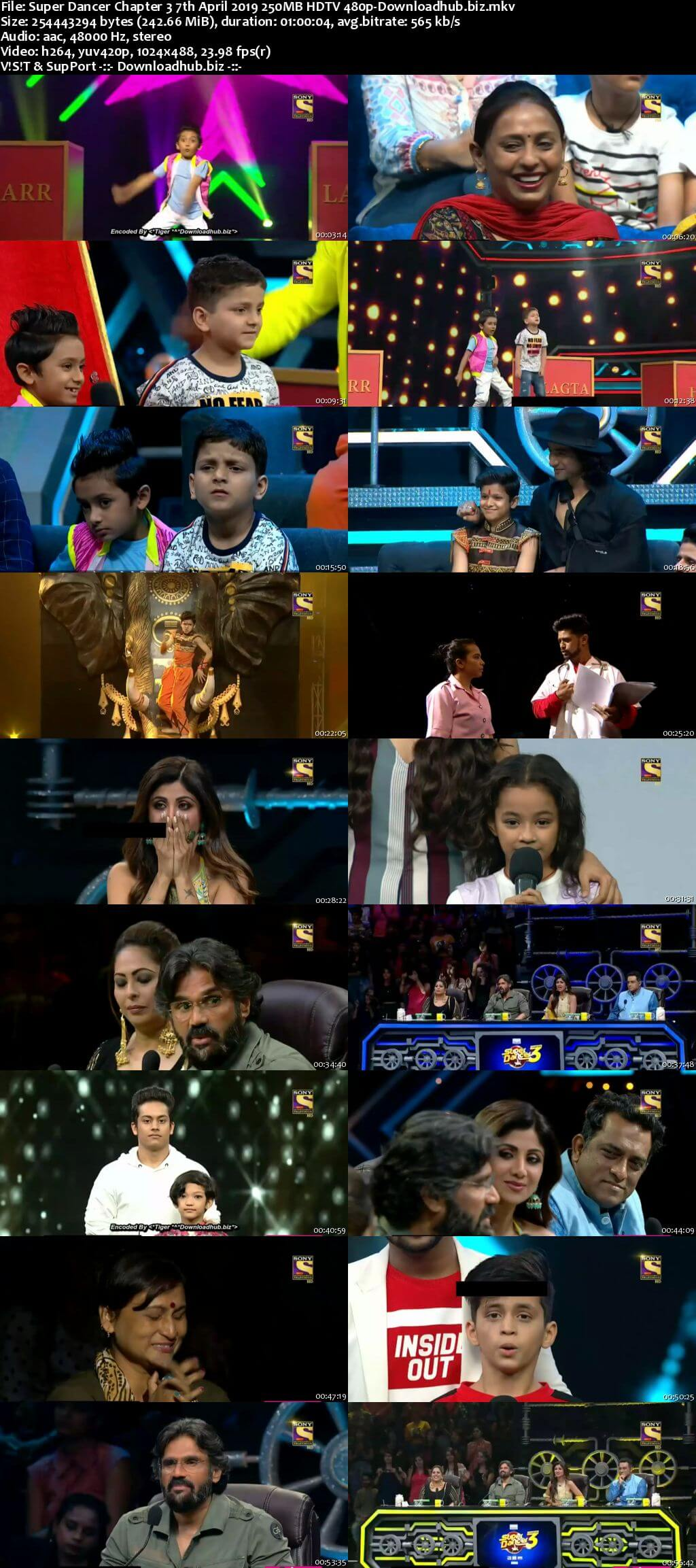 Super Dancer Chapter 3 07 April 2019 Episode 30 HDTV 480p