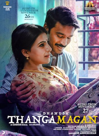 Thanga Magan 2015 Dual Audio Hindi Movie Download