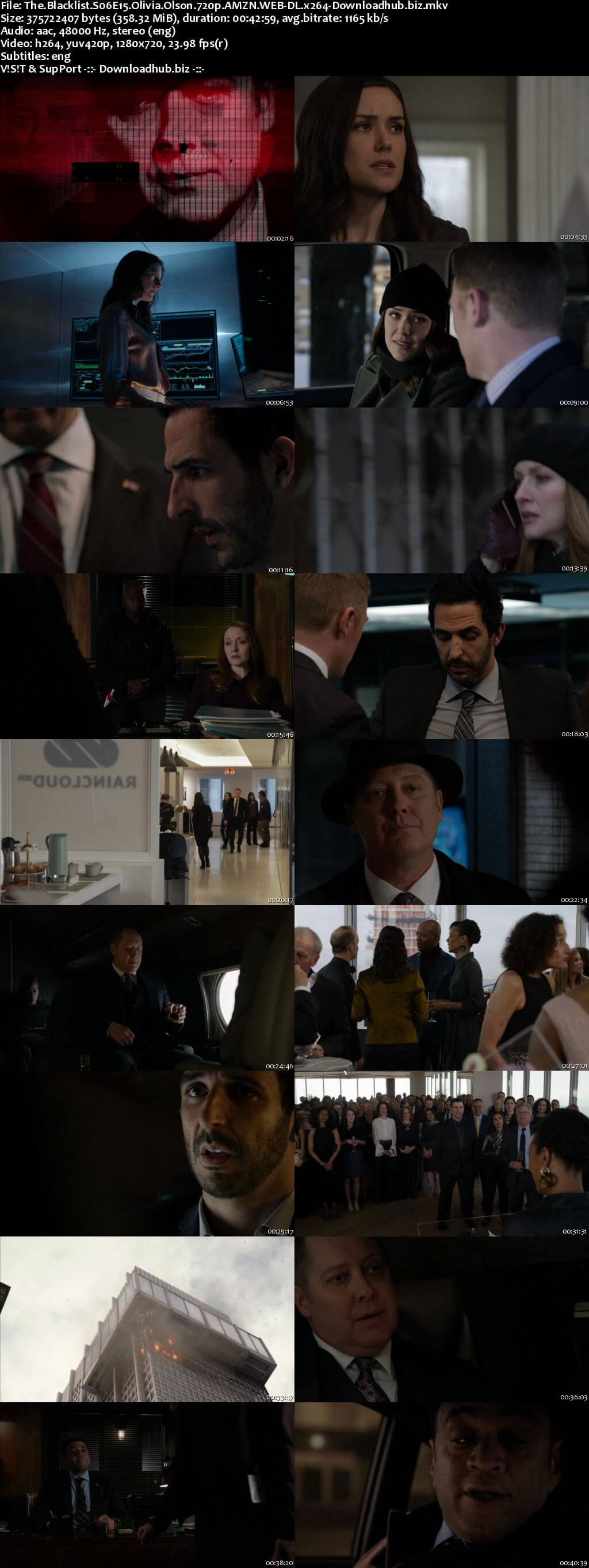 The Blacklist S06E15 350MB AMZN WEB-DL 720p ESubs