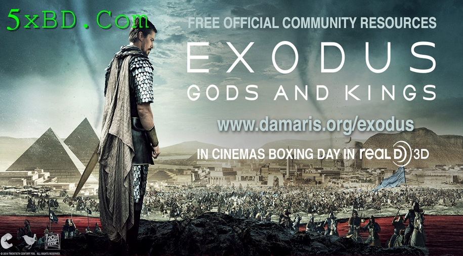 Exodus: Gods and Kings 2014 Dual Audio [Hindi – English] 720p – 480p ORG Blu-Ray 500MB – 1.3GB ESubs