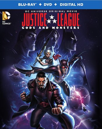 Justice League Gods and Monsters 2015 English 720p WEB-DL 550MB ESubs