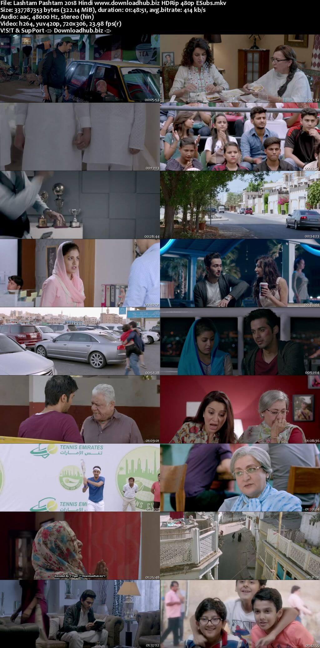 Lashtam Pashtam 2018 Hindi 300MB HDRip 480p ESubs