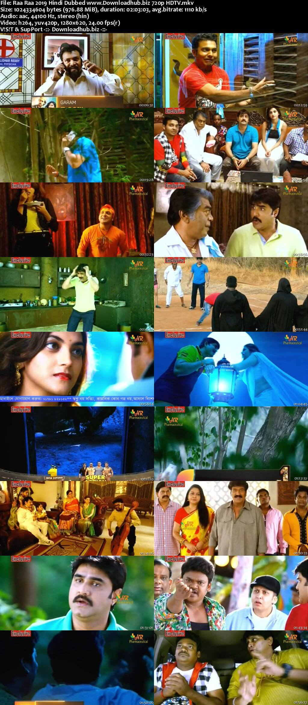 Raa Raa 2019 Hindi Dubbed 720p HDTV x264
