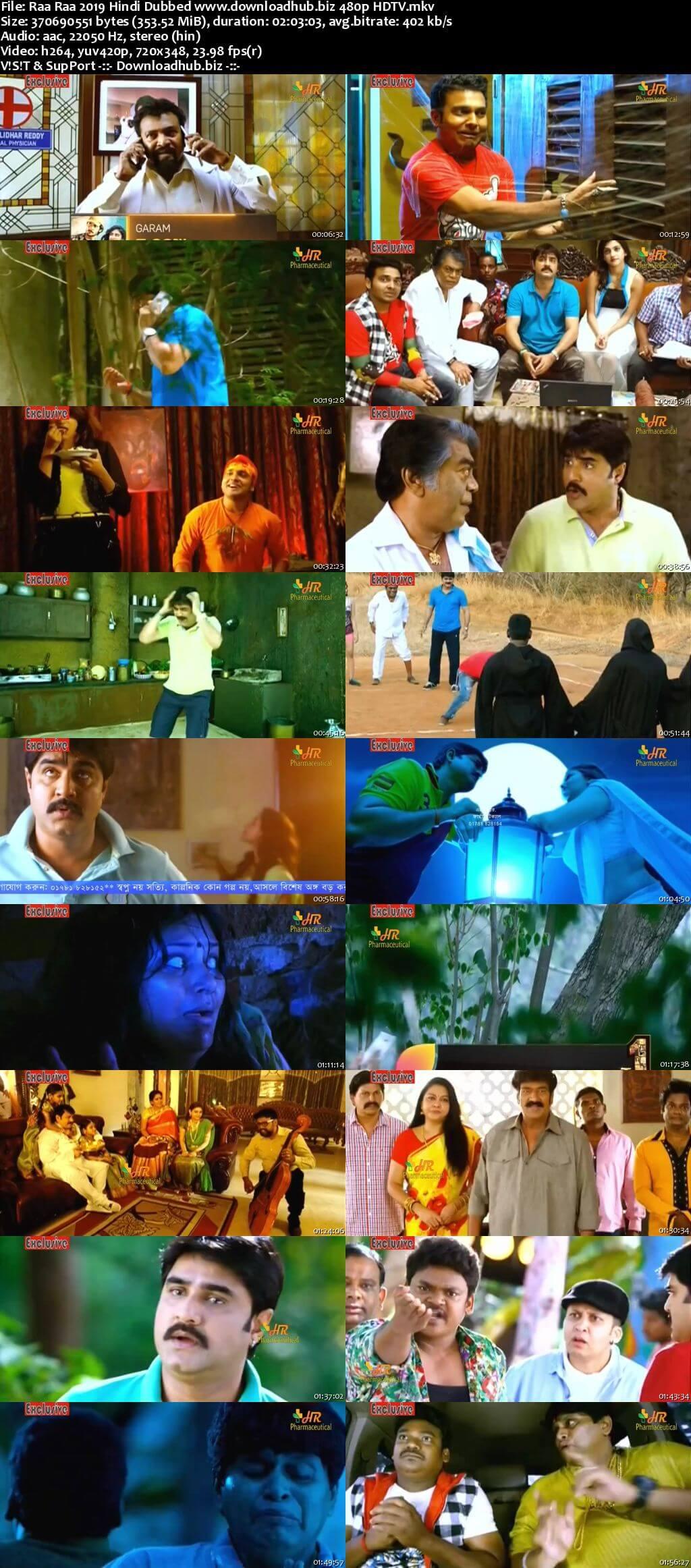 Raa Raa 2019 Hindi Dubbed 350MB HDTV 480p