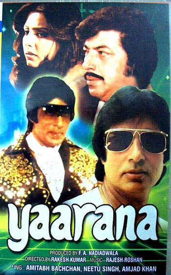 Yaarana 1981 Hindi Full Movie Download