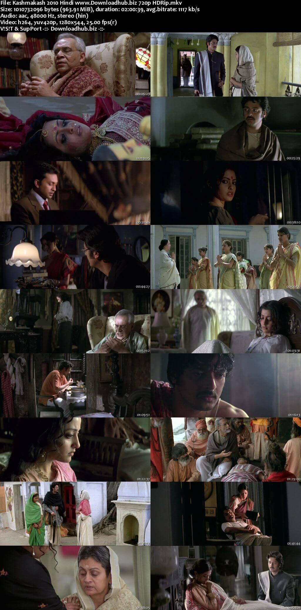 Kashmakash 2010 Hindi 720p HDRip ESubs