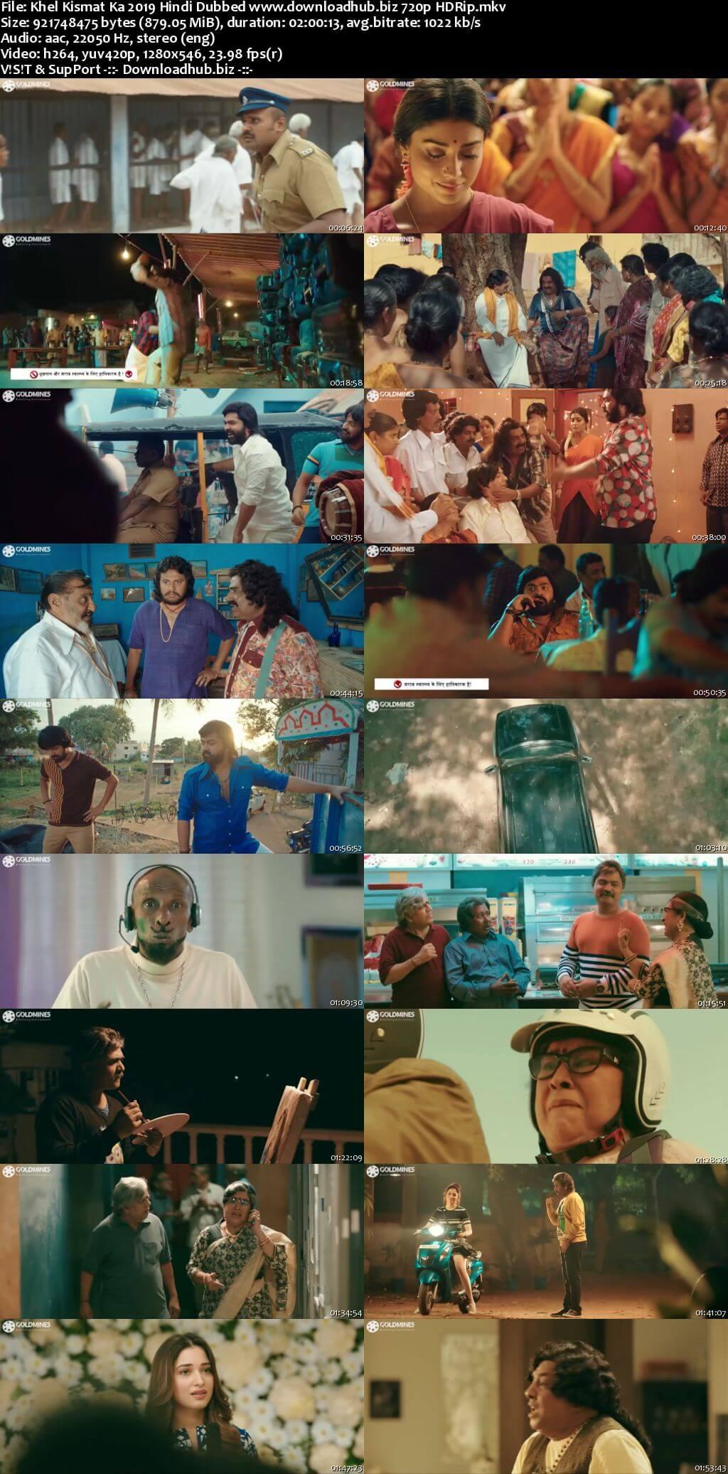 Khel Kismat Ka 2019 Hindi Dubbed 720p HDRip x264