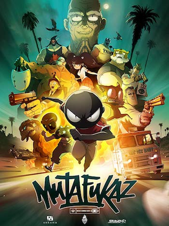 Mutafukaz MFKZ 2017 English 720p WEBRip 800MB ESubs