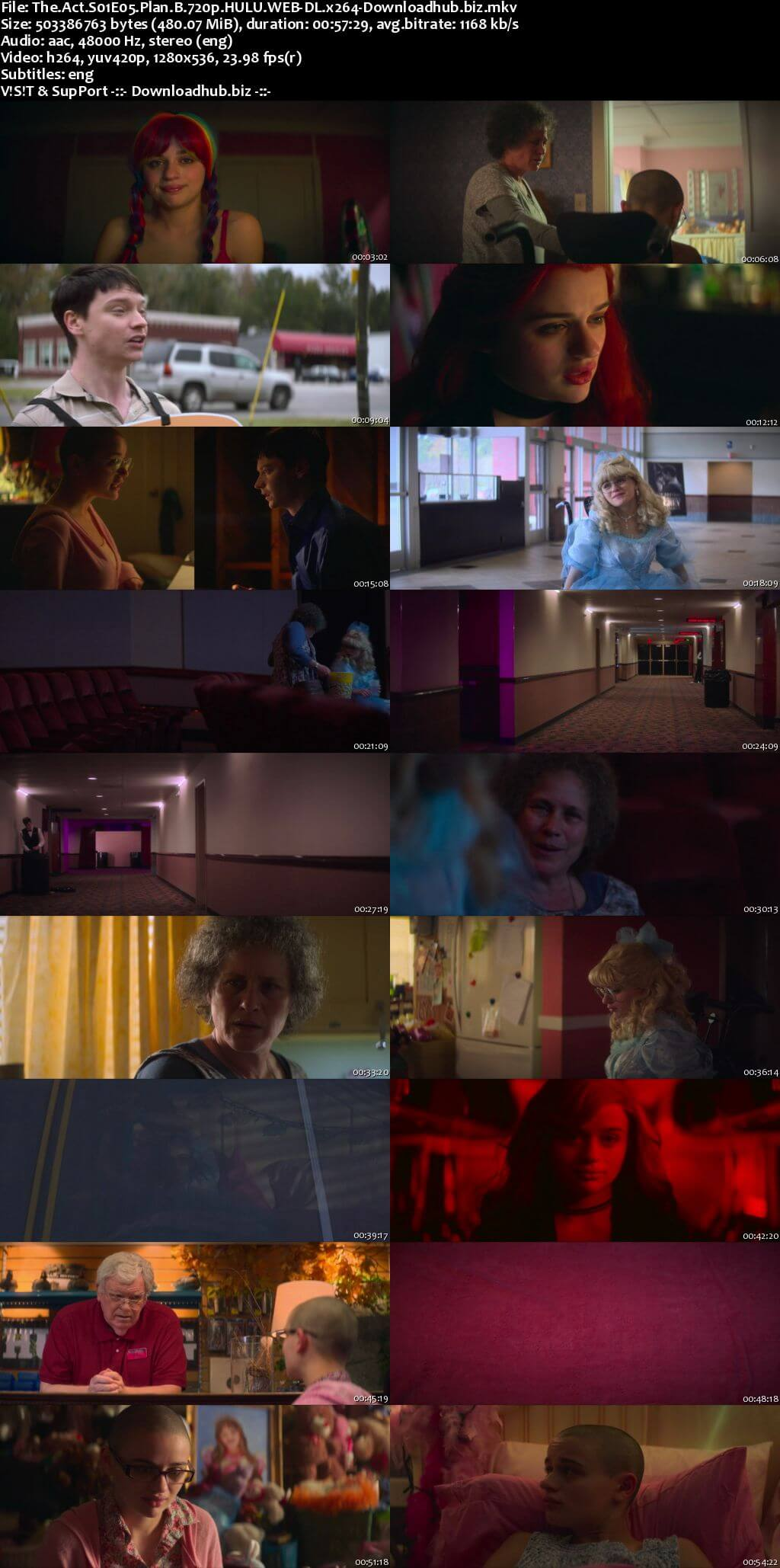 The Act S01E05 450MB WEB-DL 720p ESubs