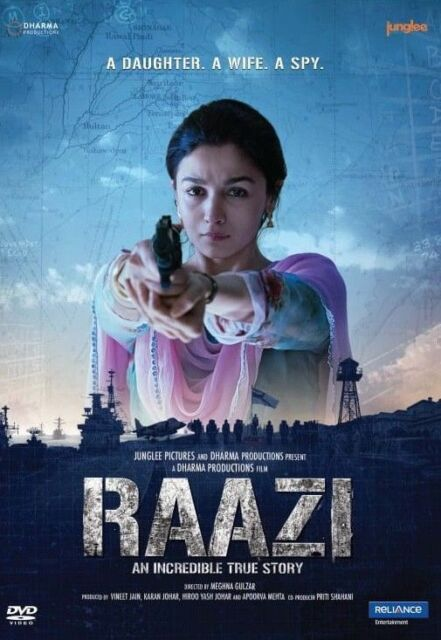 Raazi 2018 Full Hindi Movie Download 480p BluRay