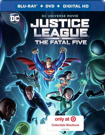 Justice League vs the Fatal Five 2019 English 720p BRRip 750MB ESubs