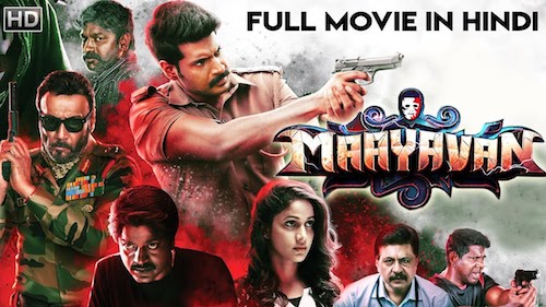 Maayavan 2019 Hindi Dubbed 720p HDRip 850MB