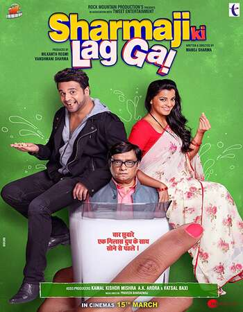 Sharmaji Ki Lag Gai 2019 Full Hindi Movie 720p HDRip Download