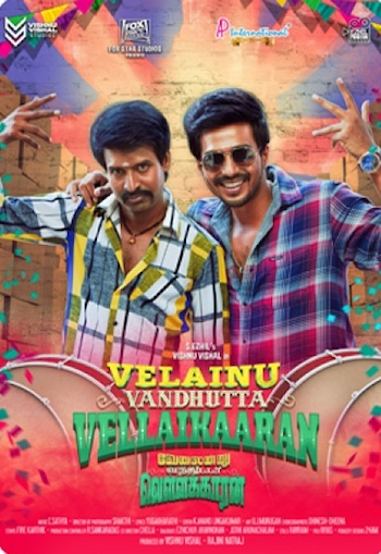 Velainu Vandhutta Vellaikaaran 2016 UNCUT Dual Audio Hindi 720p HDRip 1.1GB