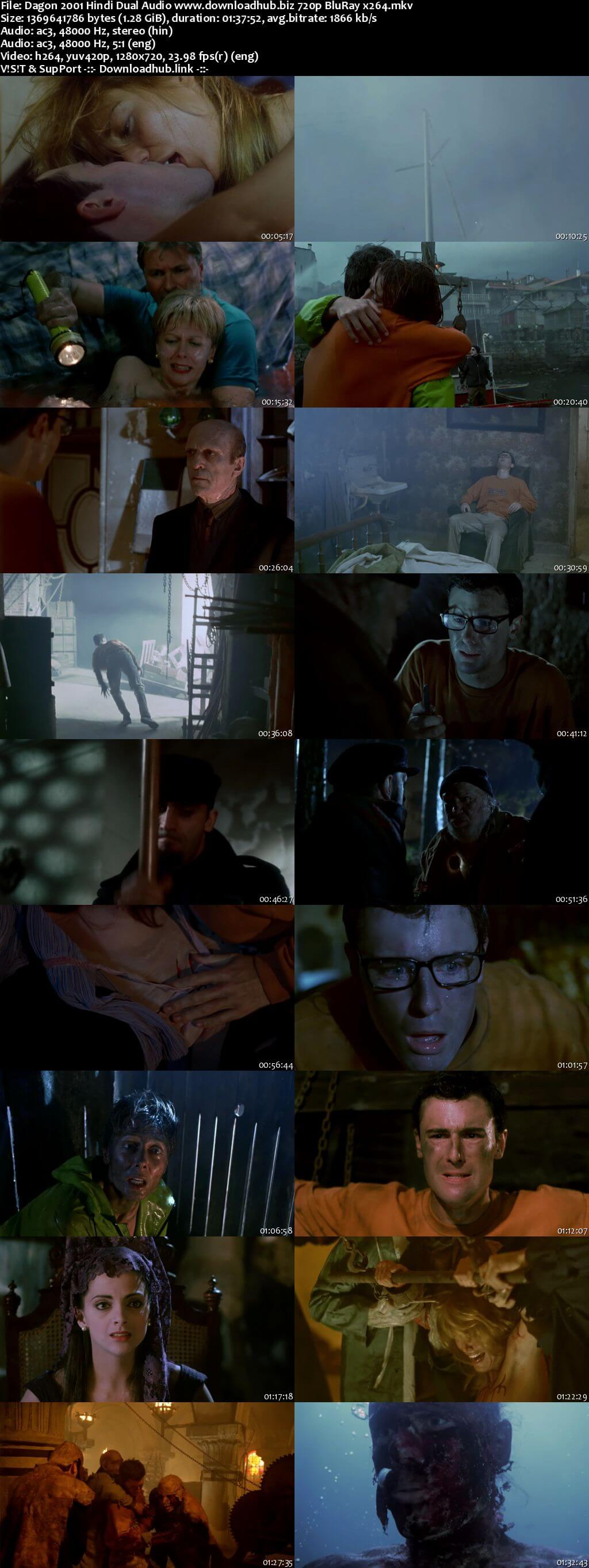 Dagon 2001 Hindi Dual Audio 720p BluRay x264