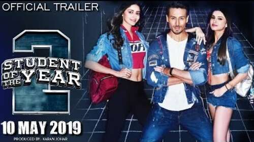Student Of The Year 2 2019 Hindi Movie Official Trailer Download