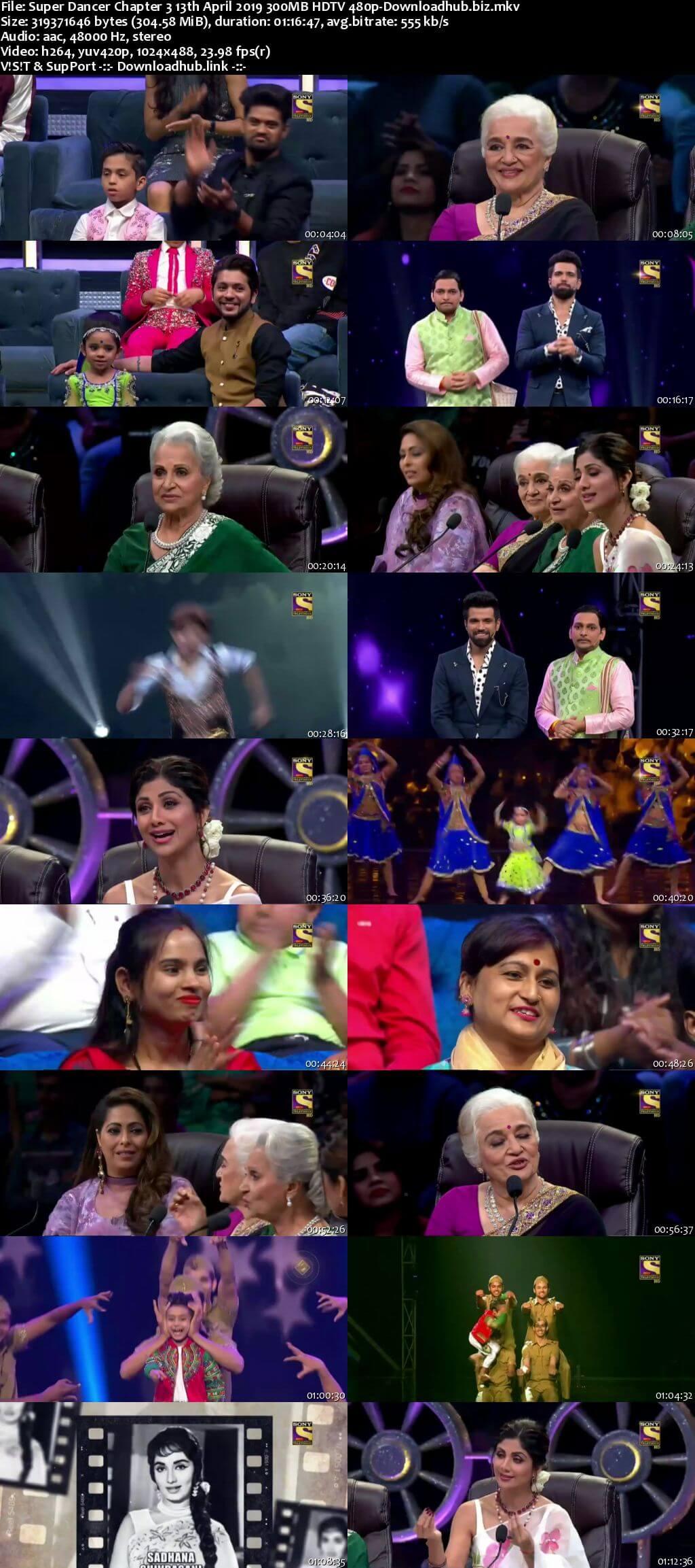 Super Dancer Chapter 3 13 April 2019 Episode 31 HDTV 480p