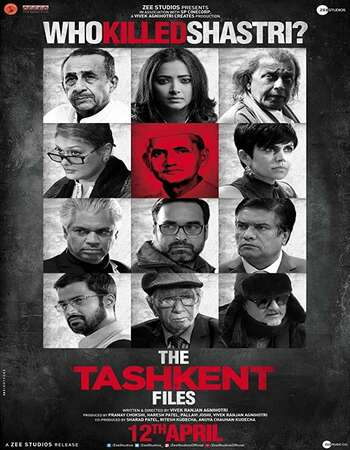 The Tashkent Files 2019 Hindi 700MB HDRip 720p ESubs HEVC