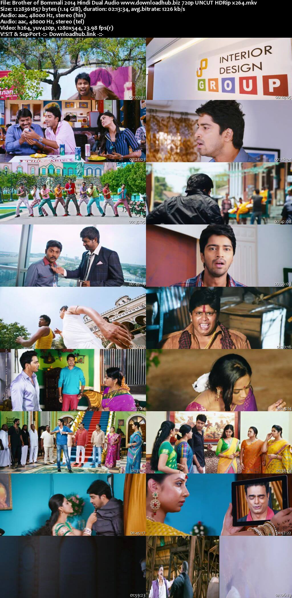 Brother of Bommali 2014 Hindi Dual Audio 720p UNCUT HDRip x264