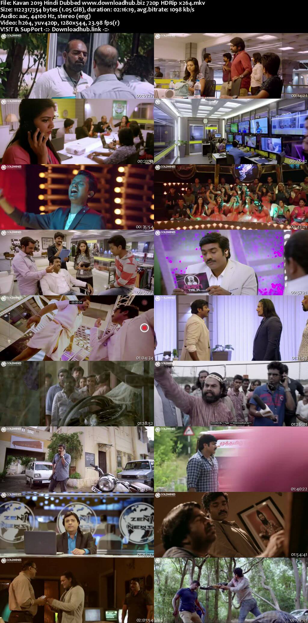 Kavan 2019 Hindi Dubbed 720p HDRip x264
