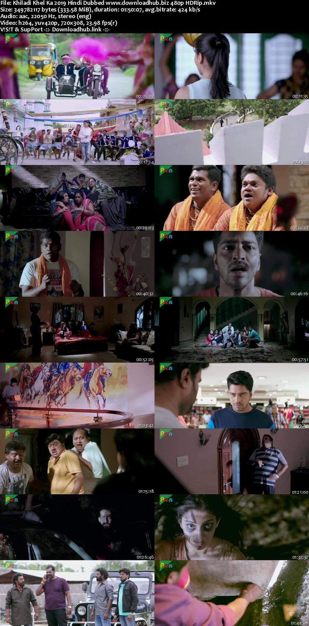 Khiladi Khel Ka 2019 Hindi Dubbed 300MB HDRip 480p