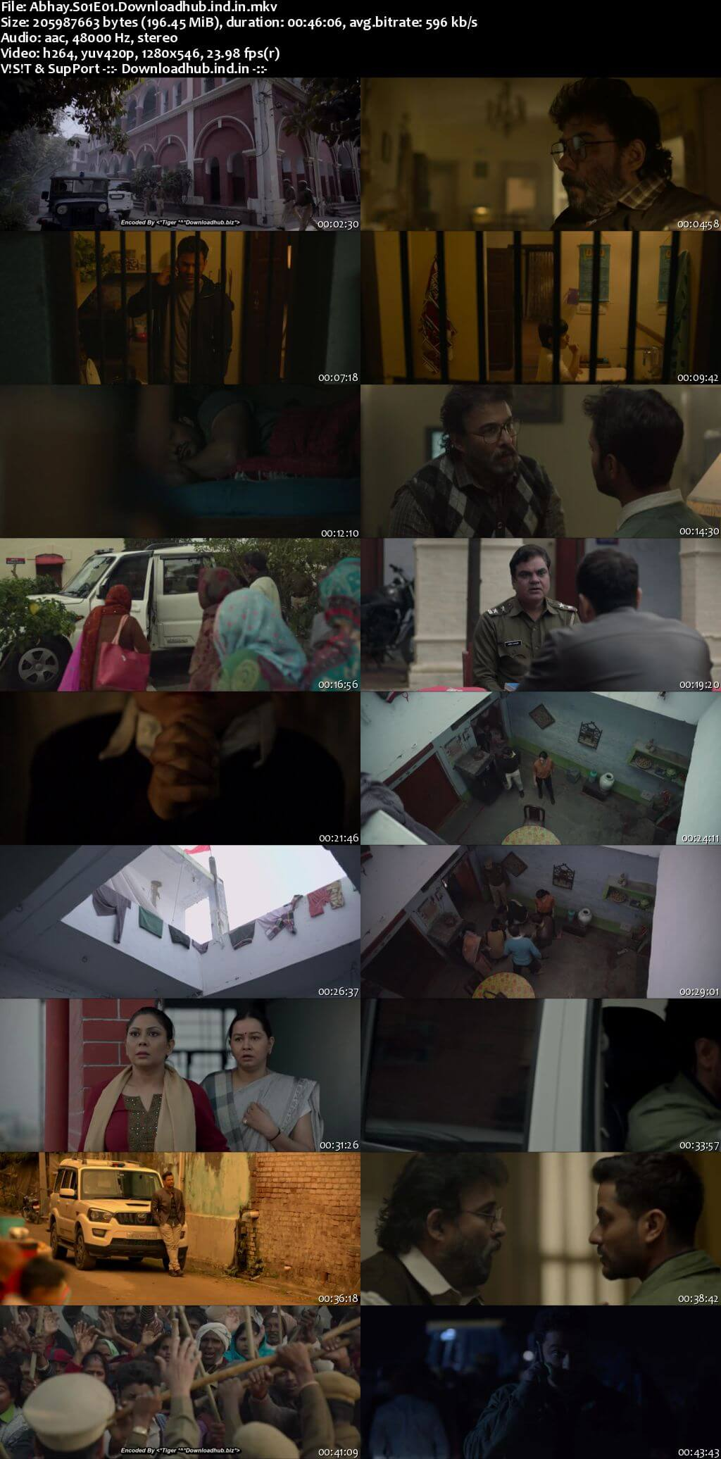 Abhay 2019 Hindi S01 WEB Series Complete 720p HDRip x264