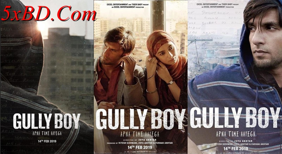 Gully Boy 2019 Hindi 1080p – 720p – HEVC – 480p ORG WEB-DL 450MB – 750MB – 1.1GB – 2.5GB ESubs