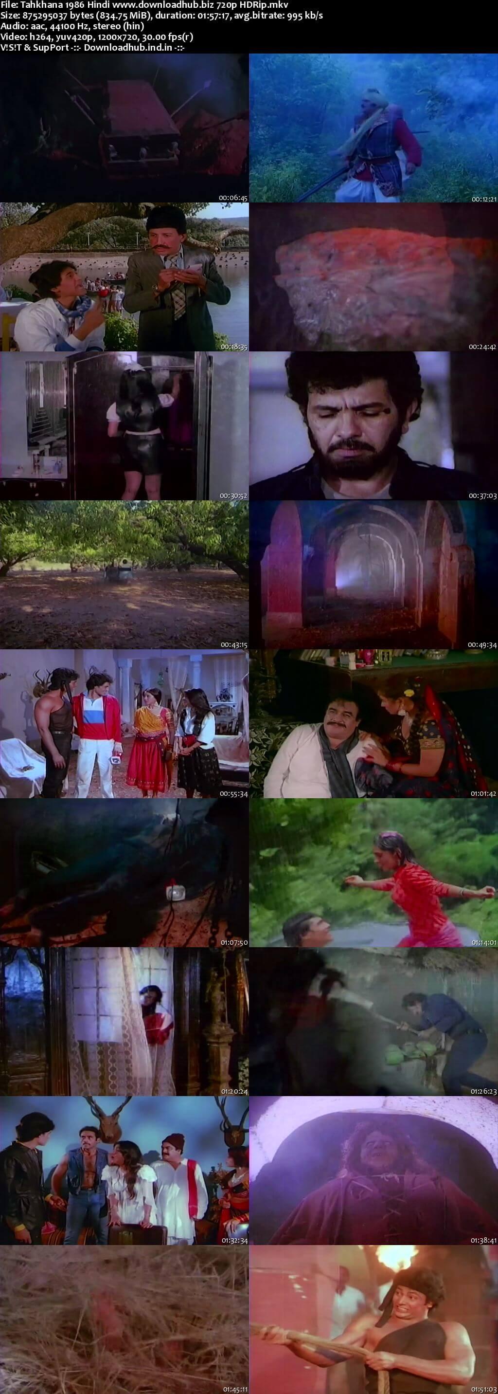 Tahkhana 1986 Hindi 720p HDRip x264